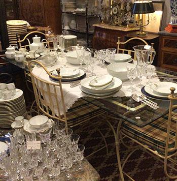 Arts de la table - Objet de collection et de vitrine